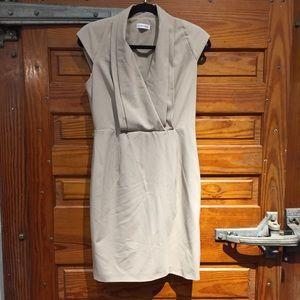 Calvin Klein Formal Business Midi Dress Sz 6